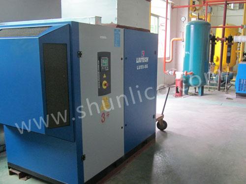 柳州富达空压机在家电厂应用