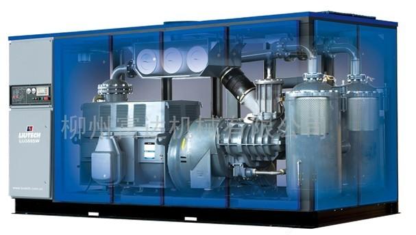 富达空压机内部结构